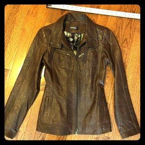 Gorgeous Danier leather jacket  3XS (UK 4)